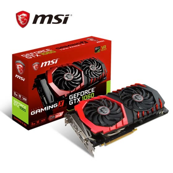 Видеокарта MSI GeForce GTX 1060 GAMING X 6G 1594-1809 МГц GDDR5 PCI-E 3.0