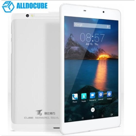 8-дюймовый Alldocube T8 Plus / Cube t8 ultimate 1920 * 1200 Телефонный планшетный ПК MTK8783 Octa Core Android 6.0 2GB Ram 16GB Rom
