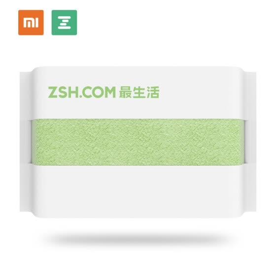 Xiaomi ZSH A-life Cotton Hand Towel, Green (34x34cm)