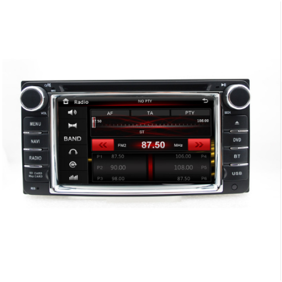 "6.2"" In dash head unit Capacitive touch screen car dvd player gps for RAV4 corolla Vios Hilux for toyota universal dvd subwoof"