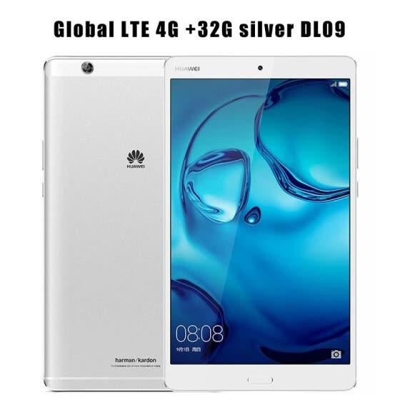 "International Firmware 8.4"" Huawei MediaPad M3 4GB 32GB Android 6.0 4G LTE/WIF Octa Core Tablet PC Kirin 950 2K Screen 2560*1600"
