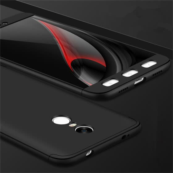 GANGXUN Xiaomi Redmi Note 4X Case 360 Degree Protection Slim Hard PC Luxury Cover for Global Version Redmi Note 4 Free Glass Film
