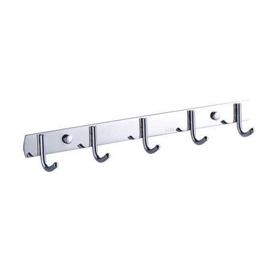 Wall Coat Rack Volla Mounted, Stainless Coat Rack