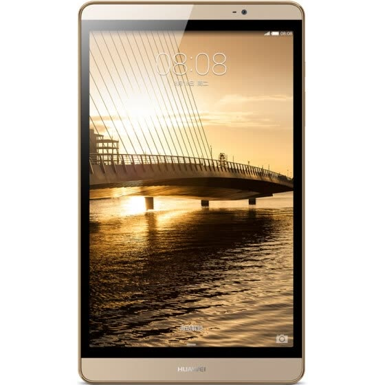 [Send spree] Huawei (HUAWEI) M2 Tablet PC 8-inch (eight nuclear Haisi Kirin 930 3G / 64G LTE) Champagne Gold