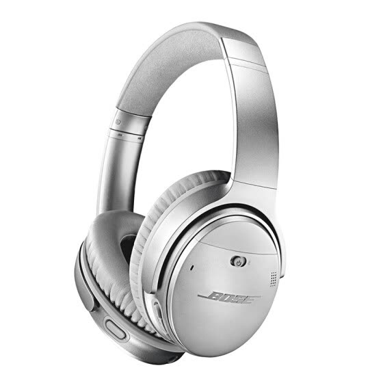 Bose QuietComfort 35 Wireless Headphones II, Silver