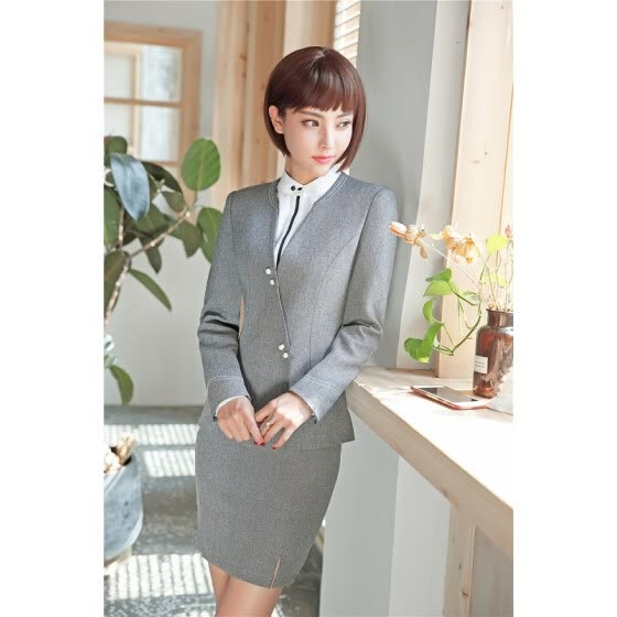 66e6f8ccf45 New Autumn Winter Formal OL Styles Blazers Suits With Jackets And Skirt For  Ladies Office Work