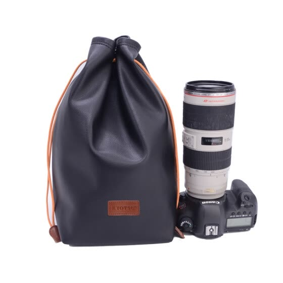 KYOTSU King wins Canon Nikon SLR camera storage bag sleeve SLR +70-200 M1 extra large