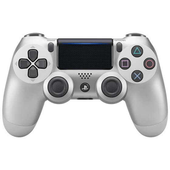 SONY Original DualShock 4 Wireless Controller for PlayStation 4- silver