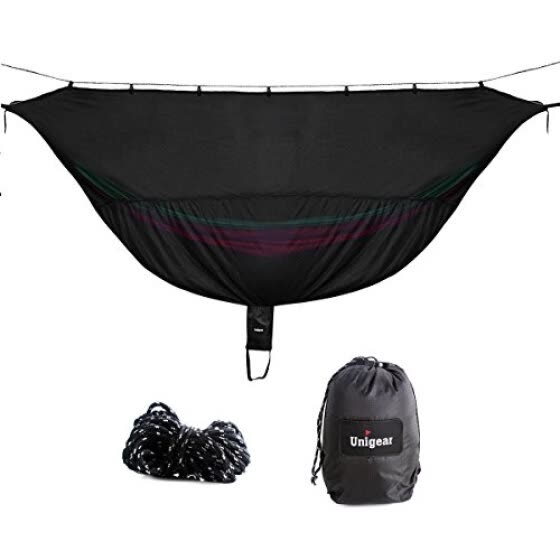 "Unigear 11' Hammock Bug Net for 360° Mosquitos Protection Size 132"" x 55"""