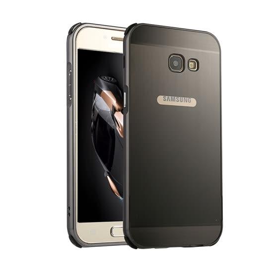 brand new bc710 f982e Shop Luxury Case for Samsung Galaxy A5 2017 Aluminum Bumper+Acrylic ...