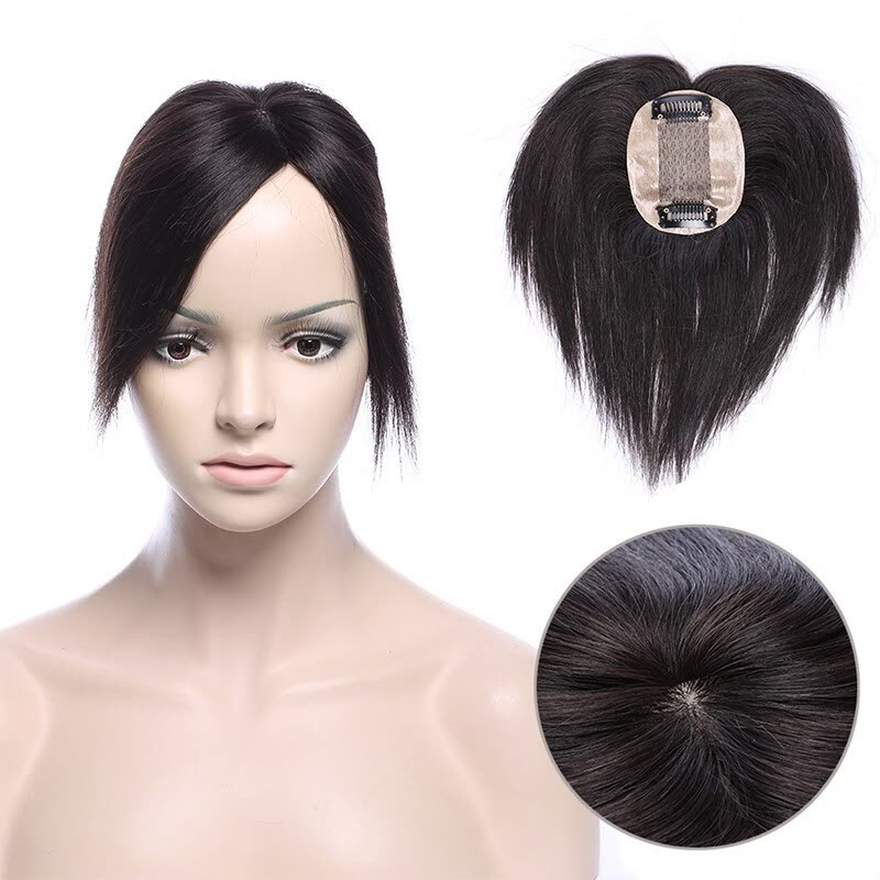 Shop Remy Human Hair Topper One Piece Clip In Toppers Extension