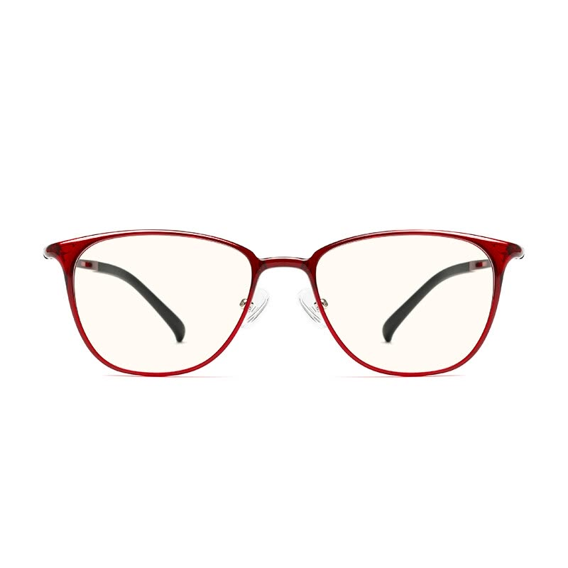 ff5f397cd124 Shop Millet (MI) glasses for men and women TS basic level anti-blue goggles  meter home custom version red frame Online from Best Eyewear  amp  ...