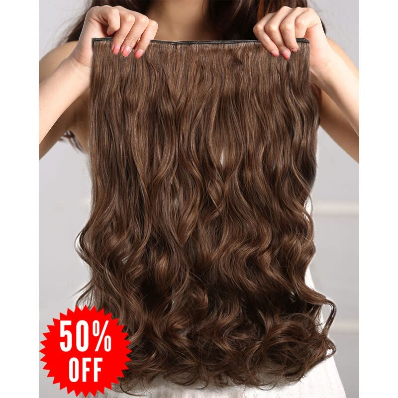 Shop Rhyme 23 Linen One Piece Hair Extensions 34 Full Head Natural