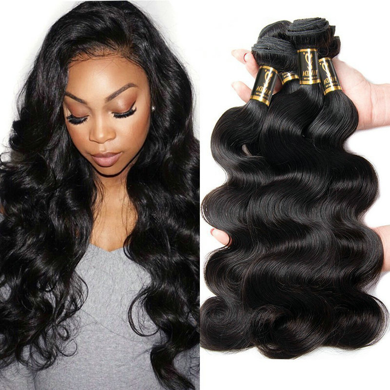 Yavida Hair Brazilian Body Wave 4 Bundles 7a Unprocessed Virgin
