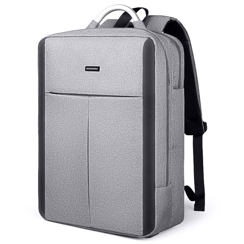 Shop BOWERBIRD Men s Backpack Business Casual Large Capacity Computer Bag  Multifunction Backpack Male 14 Inch 1185090165 Gray Online from Best  Backpacks on ... 5ba9b520b40c1