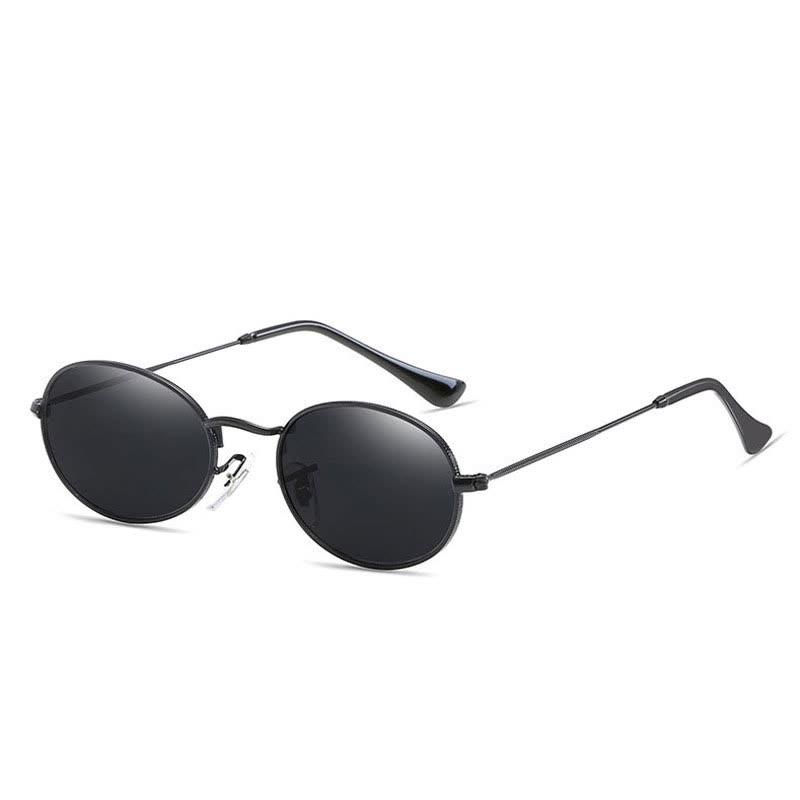 2018 Nuevo Diseñador de la Marca Vintage Oval Gafas de Sol Mujeres    Hombres Retro Clear 9b43f63eae3d