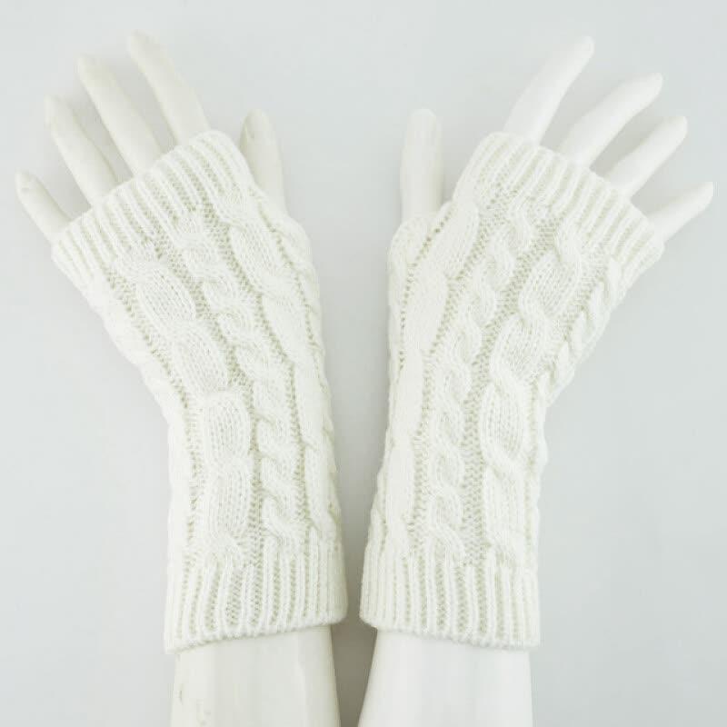 Guantes de mujer Guantes de invierno con estilo mano calentador ...