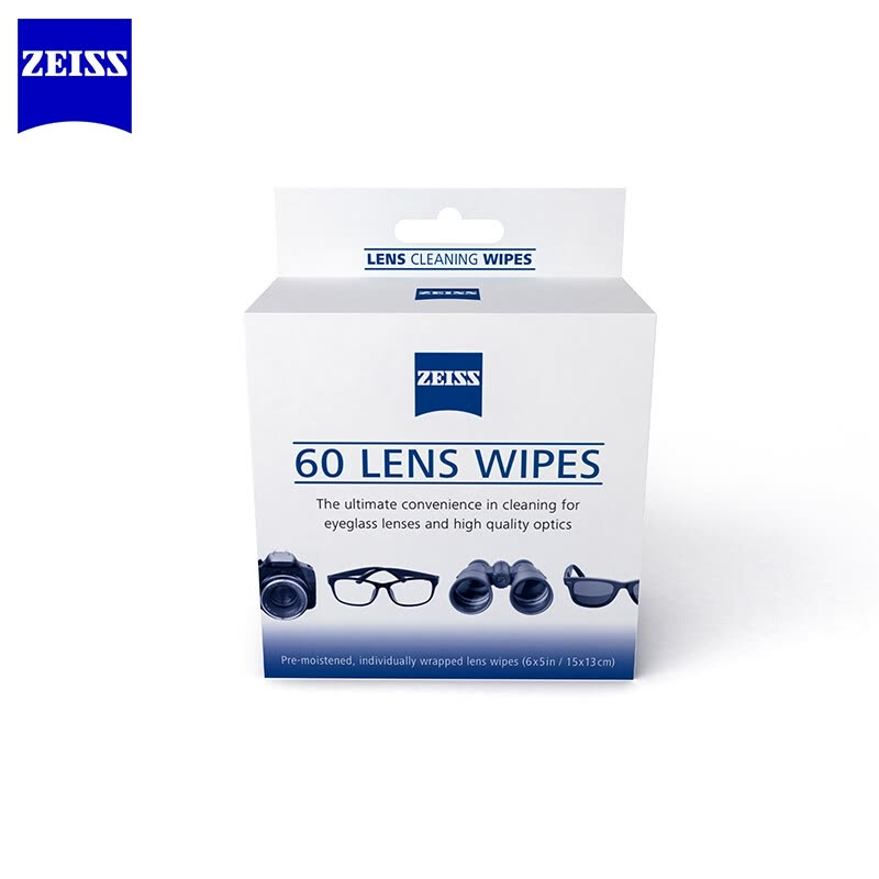 29fa7082ed Shop Zeiss Professional Optical Lens Paper Lens Cleaning Lens Camera Lens  Cleaning Wipes 60 Pack Online from Best Camera Cleaning Kits Screen  Protectors on ...