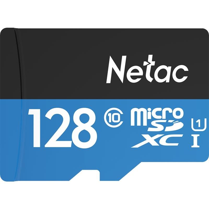 Карта памяти Netac 128G Class10 Карточка TF (micro-SD) для наблюдения