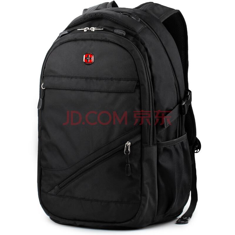 Swiss Laptop Backpack Business Casual Bag Traveling Hiking Rucksack
