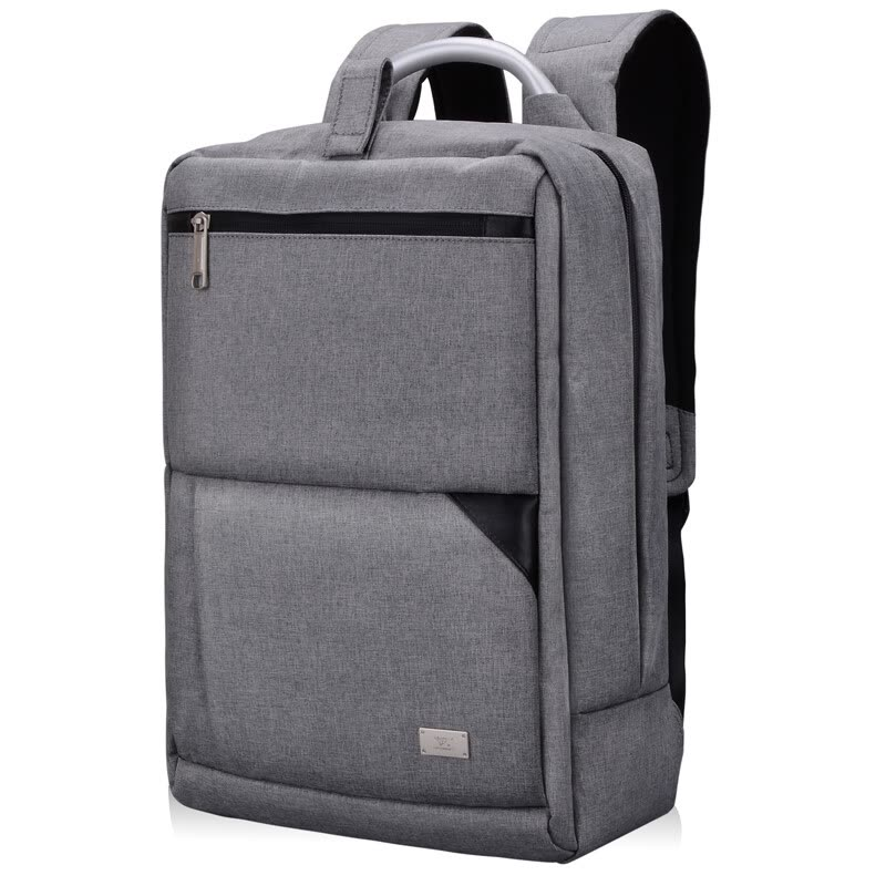 9d101aa4a7 Shop Seven wolves (SEPTWOLVES) shoulder bag computer bag 14 inch male and  female secondary school student bag light business travel bac Online from  Best ...