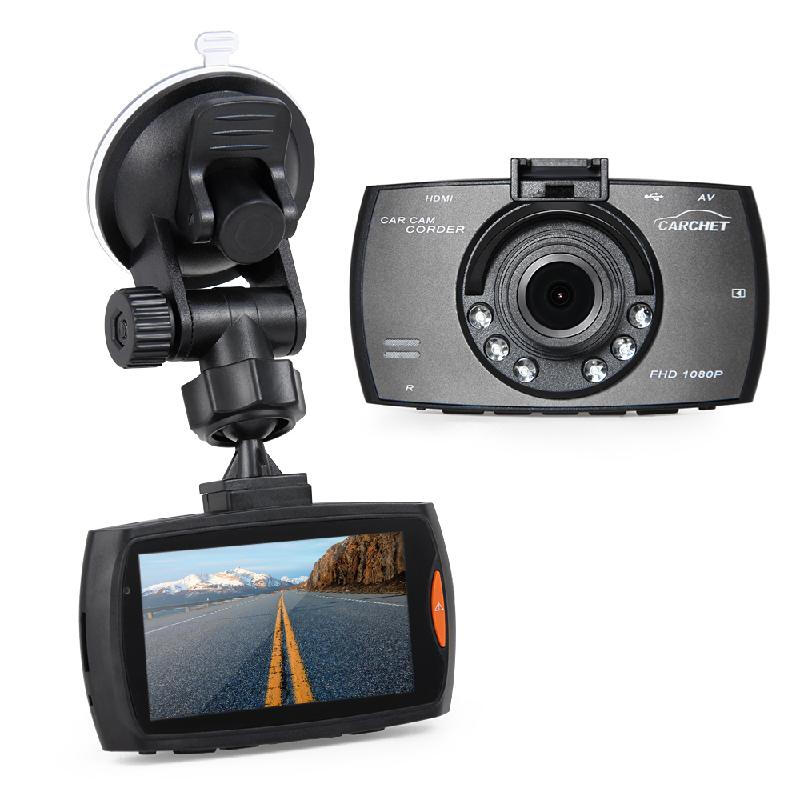 "CARCHET Full HD 1080P Vehicle Car Dashboard DVR Cam Camera Video Recorder 2.7"" TFT"