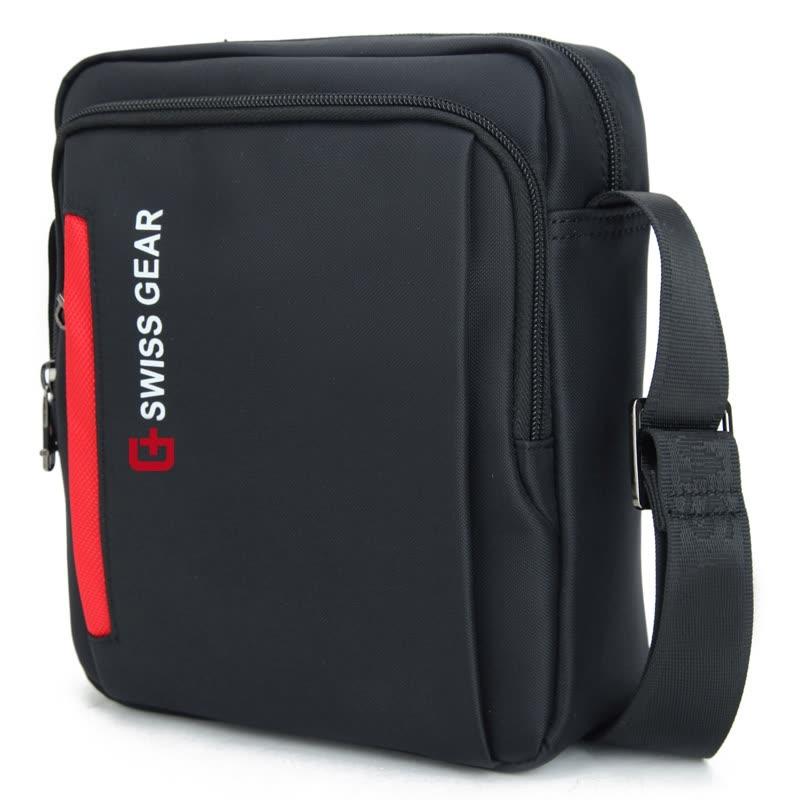 d9ef7aabf4 Shop  Jingdong Supermarket  SWISSGEAR Shoulder Bag Male Long Style Casual  Fashion Shoulder Bag Messenger Bag Business Bag iPad Bag SA-5008 Black  Online ...