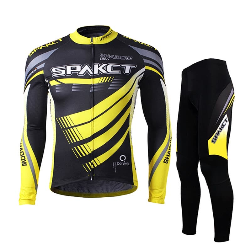b9ba2639a Sparct Spakct Cycling Suit Spring Summer Mirage Lightning Long Sleeve  Cycling Top Cycling Shirt Lightning Suit
