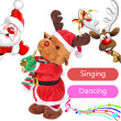 Christmas Electric Dancing Singing Reindeer Animated Plush Toy Stuffed Animals