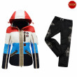 B0GNER Women Pira-D Down Ski Pants BJ3172P Black+B0GNER Women Neah-D Down Ski Jacket 3072 Blue Red Green Yellow