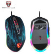 Motospeed V60 RGB Macro Programming 5000 DPI Gaming Mouse USB Computer 7 Button Wried Optical Mice Backlit Breathe LED for PC