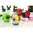 JY-006 Portable Wirless Bluetooth Speakers Bass Stereo Cartoon Amplifiers Sport Speaker Support Mic Mobile Phone Call FM SD Record