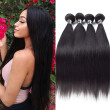 Amazing Star Virgin Hair Brazilian Straight Hair 4 Bundles Straight Hair Weave Human Hair Extensions Natural Color