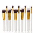 MYBASY 10pcs Kabuki Makeup Brush Sets