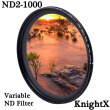 KnightX ND2 TO ND1000 variable Neutral Density Adjustable Camera Lens Filter For canon sony nikon 49mm 52mm 55mm 58mm62mm 67mm