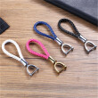 100% New Hand-woven Leather Car Keys Rings Keychain for Kia Rio BMW Toyota Mercedes Ford Honda Audi Mazda Car Key Rings Universal