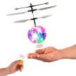 Fantastic New Fashion Infrared Induction Drone Flying Flash Disco Colorful Shining LED Lighting Ball Helicopter Child Kid Toy Gest