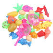 52pcs Kids Fishing Magnetic Toys Floating Fishing Game