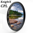 KnightX CPL polarizer polarizing Camera Lens Filter For canon eos sony nikon 49mm 52mm 55mm 58mm 62mm 67mm 72mm 77mm
