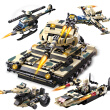 COGO building blocks military  tanks (25 kinds of tanks, fighters, chariot) intelligence toy