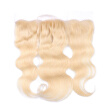 9A 613 Blonde Lace Frontals With Baby Hair 13*4 Ear To Ear Body Wave Lace Frontal Closure Brazilian virgin Hair Extensions