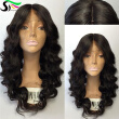 9A Grade Human Hair Lace Front Wigs With Baby Hair Loose Wave Pre Plucked Peruvian Virgin Hair Lacefront Wigs For Black Women