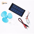 Boguang DIY Fan Kid Solar Energy Education Toys 3V 0.75W PET Solar Panel polysilicon module small wind motor switchcable solar kit