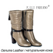 Winter New Produced Mid-length Light Grey Half Boot with Black Leather Buckle Sheepskin Fashion Temperament Woman Boots