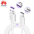 Original For Huawei USB 5A Type C Cable P20 Pro lite Mate20 10Pro P10 Plus lite V10 USB 3.1 Type-C Supercharge Super Charger Cable