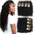 YAVIDA Hair Brazilain Deep Wave 4 Bundles  Brazilian Hair Extension Human Hair Virgin Hair Deep Wve