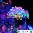 BOGUANG 7M LED flower string colorful light solar panel power for outdoor Christmas lights street party home tree decoration use
