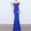 Womens Formal Off Shoulder Mermaid Prom Evening Dresses Party Gown