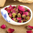 Roses Flower Tea Chinese Organic Green Food Red Rose Dried Flowers Buds Blooming Tea For Slimming Weight Loss organic tea