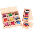 New Wooden Baby Toy Montessori Color Tablet Educational Early Childhood Education Preschool Training Kids